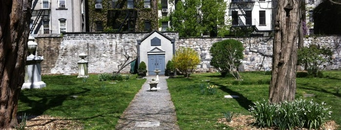 New York City Marble Cemetery is one of Strange Places and Oddities in NYC.