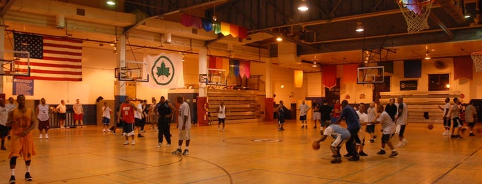 Lost Battalion Hall Recreation Center is one of Best Places to Play Winter Ball in NYC.