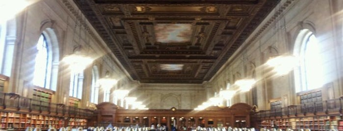 Rose Main Reading Room is one of New York Public Libraries.