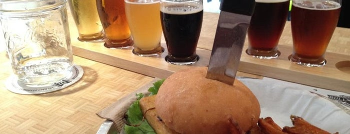 Bull City Burger and Brewery is one of NC Breweries.