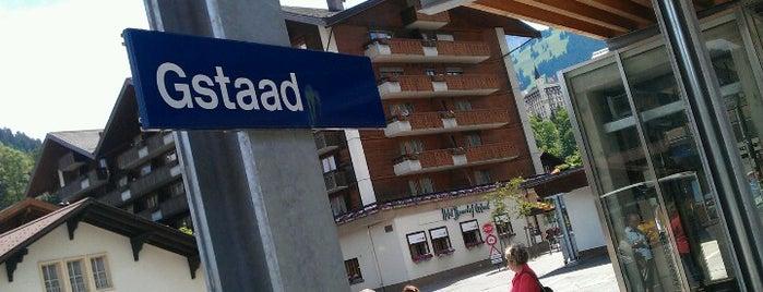 Bahnhof Gstaad is one of Bahnhöfe Top 200 Schweiz.