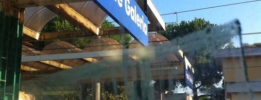 Stazione Ponte Galeria is one of Muoversi a Roma.