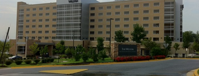 The Westin Baltimore Washington Airport Hotel - BWI is one of Maryland Green Travel Hotels and Inns.