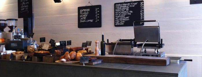 Fernandez & Wells is one of London's Top 5 Coffee Shops.