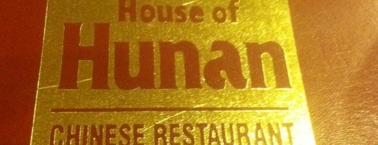House of Hunan is one of Foodie Favs.