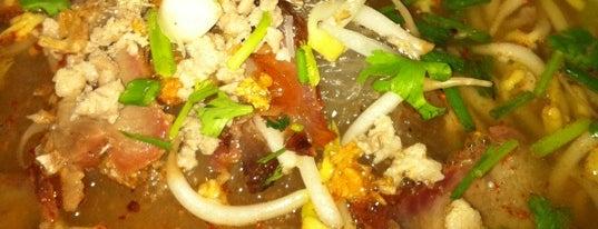 ส.เคลื่อนที่บะหมี่รสเด็ด is one of ของกินริมถนน อ.เมือง โคราช - Korat Hawker Food.
