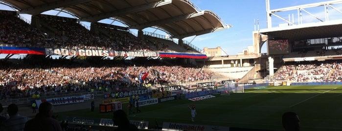 Stade de Gerland is one of Stades de Ligue 1.