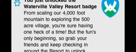 Waterville Valley Ski Area is one of Badges | Partners type.