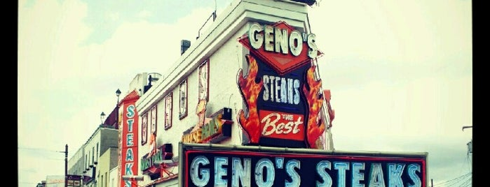 Geno's Steaks is one of Penn List.