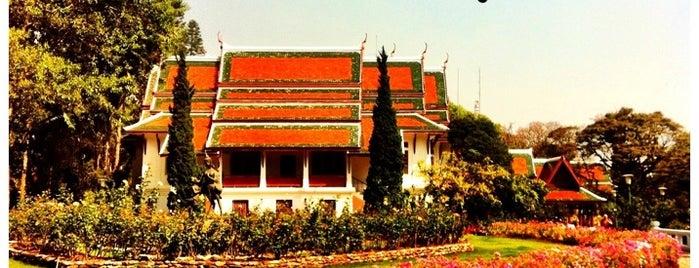 พระตำหนักภูพิงคราชนิเวศน์ (Bhubing Palace) is one of Chaing Mai (เชียงใหม่).