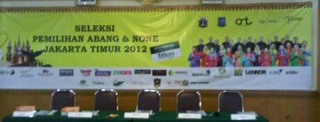 East Regional Tourism Office Of Jakarta is one of Perkantoran Pemerintah / Swasta.
