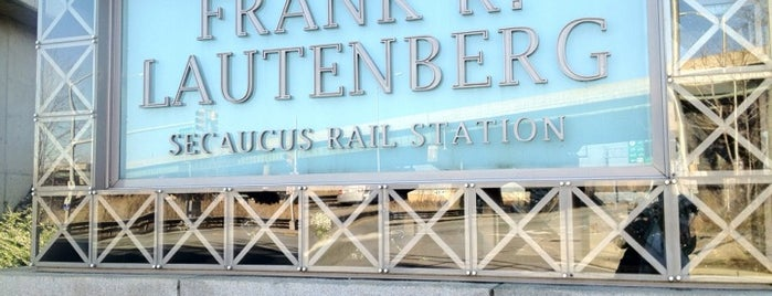 NJT - Frank R. Lautenberg Secaucus Junction Station is one of NYC.