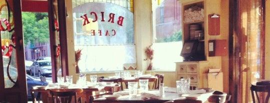 Brick Cafe is one of Vegetarian-Friendly Restaurants in Queens.