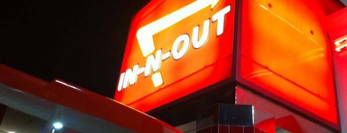In-N-Out Burger is one of BLee's Favorite Food.