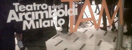Teatro degli Arcimboldi is one of Milan City Badge - Milano da bere.