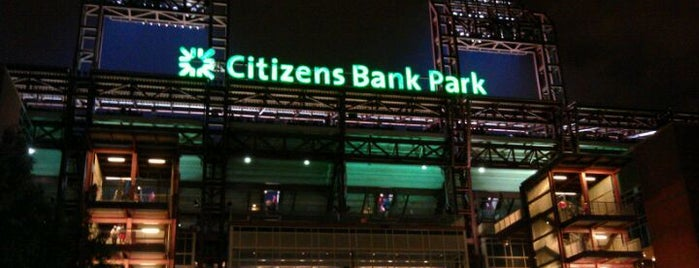 Citizens Bank Park is one of Top Picks for Sports Stadiums/Fields/Arenas.