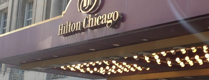 Hilton Chicago is one of Hotel.
