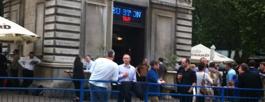 The Euston Tap is one of BMAG's Pubs.