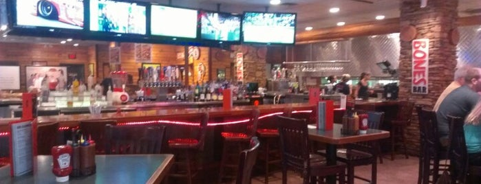 Smokey Bones Bar & Fire Grill is one of Springfield, Springfield!!.