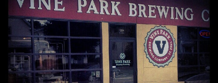 Vine Park Brewing Co. is one of Minnesota Breweries and Brewpubs.