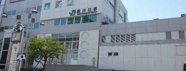 Nishi-Kawaguchi Station is one of 京浜東北線.