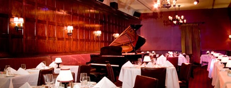 Oak Room - Algonquin Hotel is one of Cabaret's Comeback to NYC.