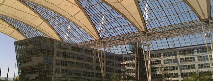 Munich Franz Josef Strauss Airport (MUC) is one of Mein Deutschland.
