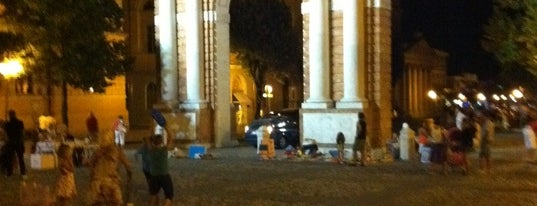 Piazza Ganganelli is one of Free WiFi - Italy.