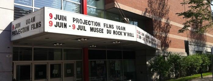 Centre Pierre-Péladeau (UQÀM) is one of Quartier des Spectacles.