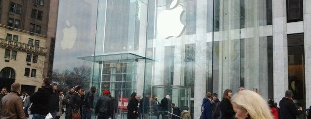Apple Fifth Avenue is one of NYC to do.