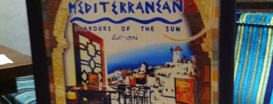 The Café Mediterranean is one of More than 20 favorite restaurants.