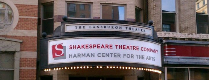 Shakespeare Theatre Company - Lansburgh Theatre is one of The Arts in DC.