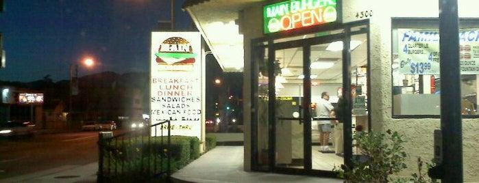 Main Burgers is one of LA's Best Hamburgers.