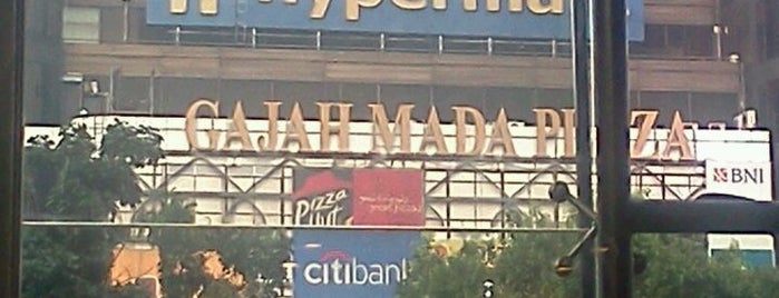 Gajah Mada Plaza is one of Malls in Jabodetabek.