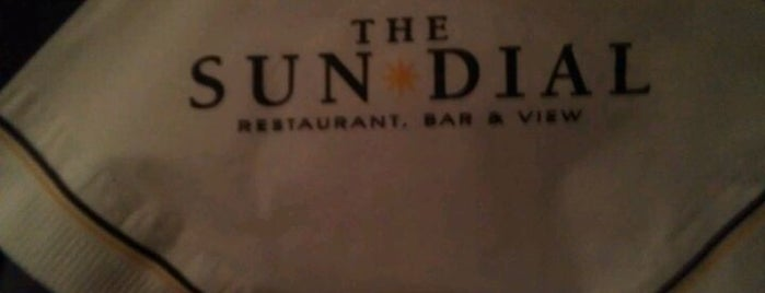 Sun Dial Restaurant, Bar & View is one of The 4sqLoveStory.