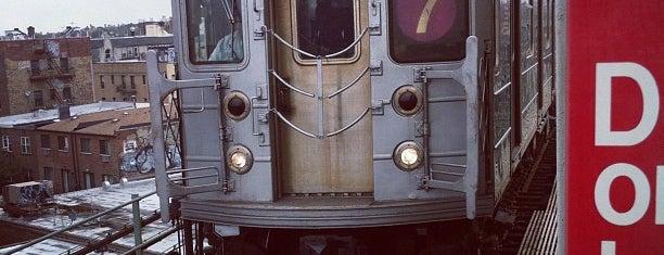 MTA Subway - 7 Train is one of NY - MTA Subway Trains.