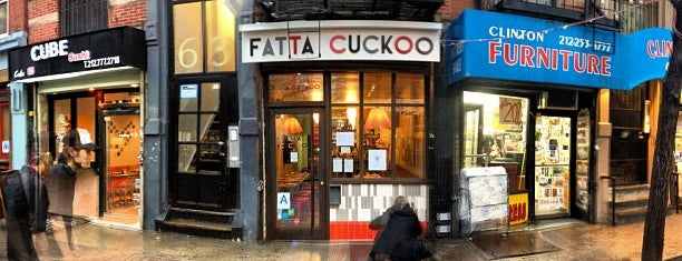 Fatta Cuckoo is one of Brunch & Lunch NYC.
