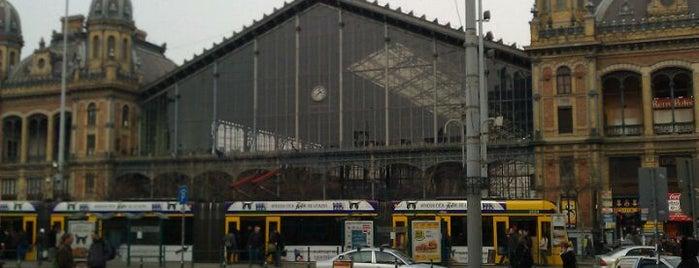 Nyugati pályaudvar is one of budapest.
