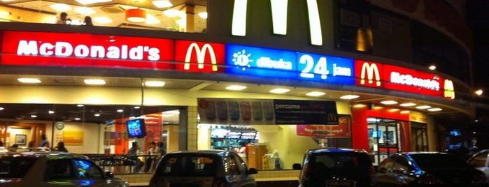 McDonald's is one of Where You Would Most Probably Find Me in Penang.