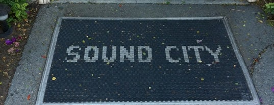 Sound City Studios is one of I'm in L.A. you trick!.