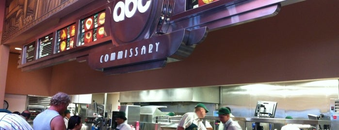 ABC Commissary is one of Disney Sightseeing: Hollywood Studios.