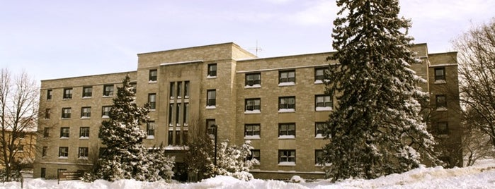 Slichter Residence Hall is one of Residence Halls.