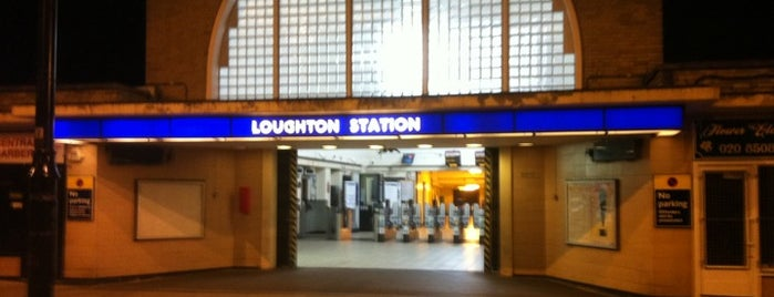 Loughton London Underground Station is one of Tube Challenge.