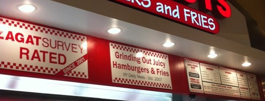 Five Guys Burgers & Fries is one of Queens Center Mall.