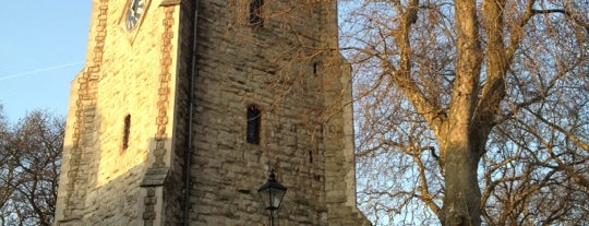 St Augustine's Tower is one of Hackney Secrets, yeah!.