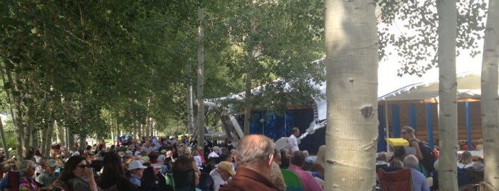 Benedict Music Tent is one of A day in the summer life: Live like an Aspen local.