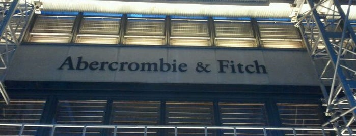 Abercrombie & Fitch is one of NYC.