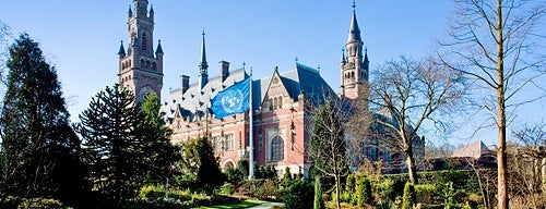 Peace Palace is one of Happy The Hague.
