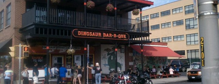 Dinosaur Bar-B-Que is one of NYC Syracuse UNI.