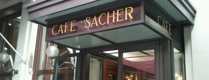 Café Sacher is one of Vienna City Badge - Blue Danube.